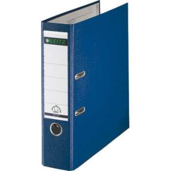 Pákový pořadač LEITZ 180° - A4, plastový, hřbet 8 cm, modrý