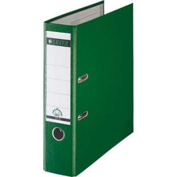 Pákový pořadač LEITZ 180° - A4, plastový, hřbet 8 cm, zelený
