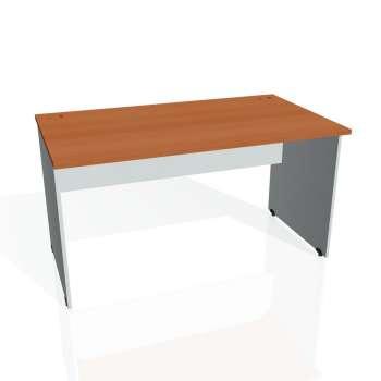 Psací stůl Hobis GATE GS 1400, třešeň/šedá