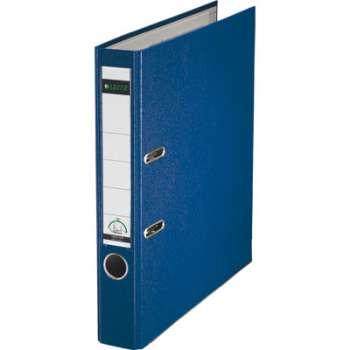 Pákový pořadač LEITZ 180° - A4, plastový, hřbet 5,2 cm, modrý