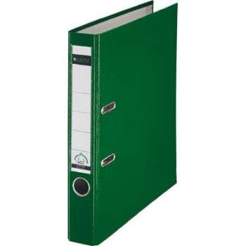 Pákový pořadač LEITZ 180° - A4, plastový, hřbet 5,2 cm, zelený