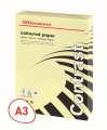 Barevný papír Office Depot Contrast  A3 - pastelově žlutá, 80g/m2, 500 listů