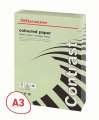 Barevný papír Office Depot Contrast - A3, pastelově zelená, 80 g, 500 listů