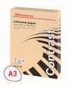 Barevný papír Office Depot Contrast  A3 lososová, 80g/m2, 500 listů