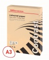 Barevný papír Office Depot Contrast  A3 - lososový, 80 g/m2, 500 listů