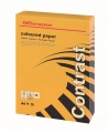 Barevný papír Office Depot Contrast  A4 - intenzivně oranžový, 80 g/m2, 500 listů