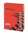Barevný papír Office Depot Contrast - A4, intenzivní červená, 80 g, 500 listů