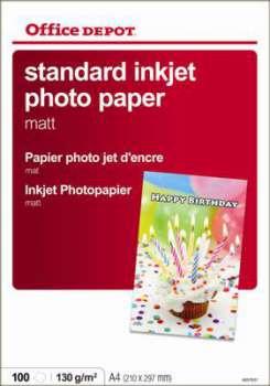 Fotopapír Office Depot, A4, 120 g/m2, matný