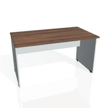 Psací stůl Hobis GATE GS 1400, ořech/šedá