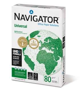 Kancelářský papír Navigator Universal A4 - 80 g/m2, 500 listů