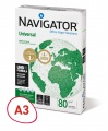 Kancelářský papír Navigator Universal A3 - 80g/m2, 500 listů