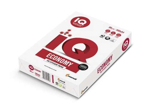 Kancelářský papír IQ Economy - A4, 80 g, 500 listů