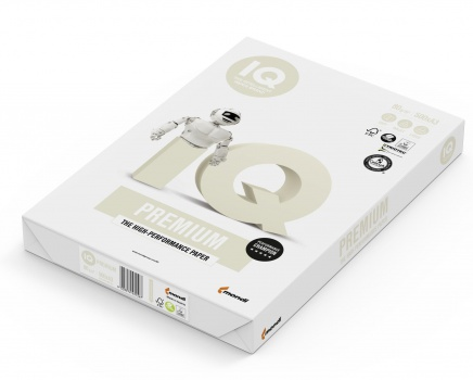 Kancelářský papír IQ Trio Premium - A3, 80 g, 500 listů