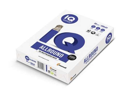 Kancelářský papír IQ Allround A4, 80g/m2, 500 listů
