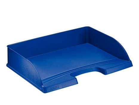 Zásuvka Leitz Plus na šířku, modrá