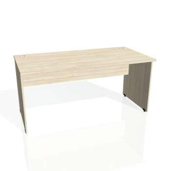 Psací stůl Hobis GATE GS 1600, akát/akát
