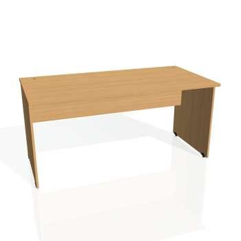 Psací stůl Hobis GATE GS 1600, buk/buk