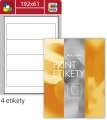 Etikety na pořadače S&K Label - mix barev, 192 x 61 mm, 400 ks
