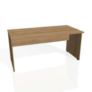 Psací stůl Hobis GATE GS 1600, višeň/višeň