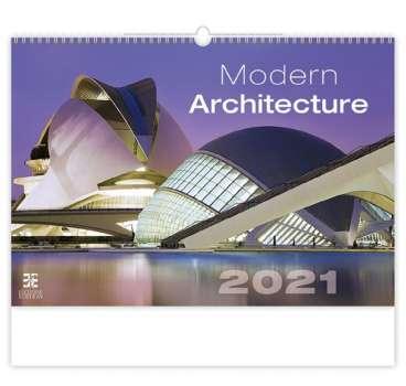 Nástěnný kalendář 2018 Modern Architecture