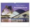Nástěnný kalendář Modern Architecture
