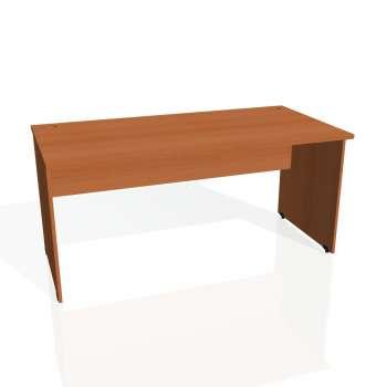 Psací stůl Hobis GATE GS 1600, třešeň/třešeň