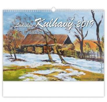 Nástěnný kalendář 2018 Ladisla Kulhavý - Krajiny