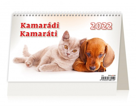 Stolní  kalendář 2018  Kamarádi/Kamaráti