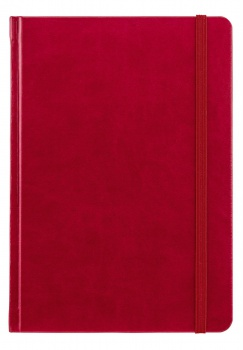 Notes A5 Saturn červený čtverečkovaný