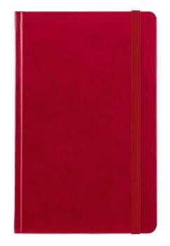 Notes kapesní Saturn červený čtverečkovaný