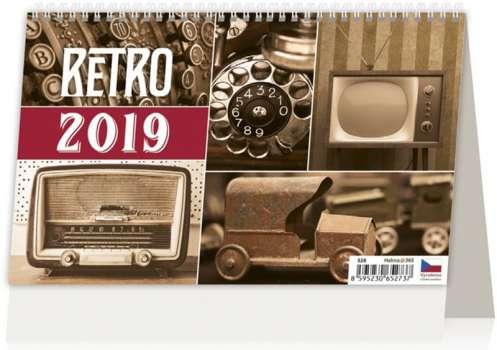 Nástěnný kalendář 2018 Retro Nostalgia