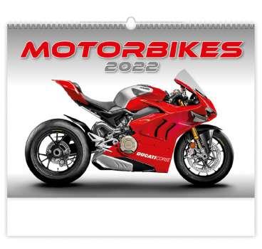 Nástěnný kalendář 2018 Motorbikes
