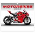 Nástěnný kalendář Motorbikes