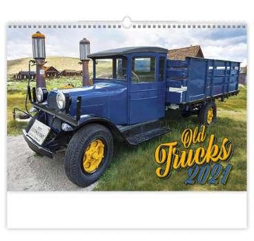Nástěnný kalendář 2018 Old Trucks