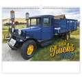 Nástěnný kalendář Old Trucks