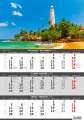 Nástěnný kalendář Pobřeží - 3měsíční