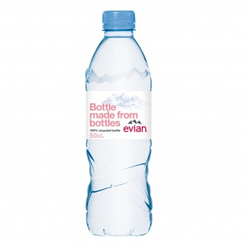 Pramenitá voda Evian - neperlivá, 24x 0,5 l
