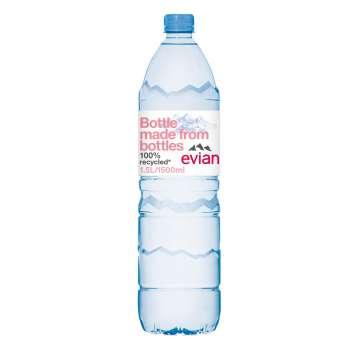 Voda Evian - neperlivá, 6 x 1,5 l