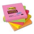 Bločky Post-it Super Sticky barevné 76x76 mm