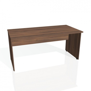 Psací stůl Hobis GATE GS 1600, ořech/ořech