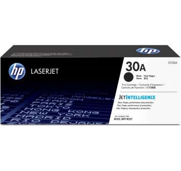 Toner HP CF230A, č. 30A - černý