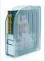 Drátěný stojan na katalogy - stříbrný