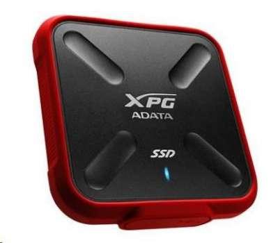ADATA External SSD 256GB ASD700X USB 3.0 černá
