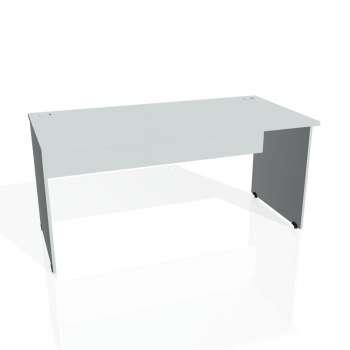Psací stůl Hobis GATE GS 1600, šedá/šedá