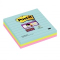 Bločky Post-it Super Sticky Miami 101,0 x 101,0 mm