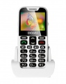 EVOLVEO EasyPhone XD, mobilní telefon (bílá barva)