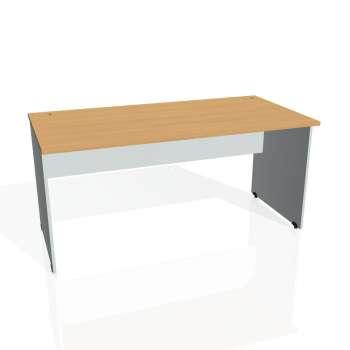 Psací stůl Hobis GATE GS 1600, buk/šedá