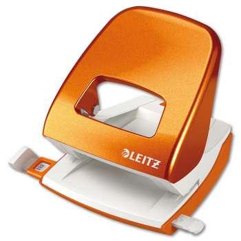 Děrovačka LEITZ NeXXt 5008 WOW metalická oranžová