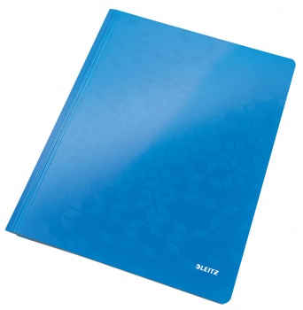 Desky s rychlovazačem WOW, A4 modrá