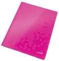 Papírový rychlovazač Leitz WOW - A4, růžový, 1 ks
